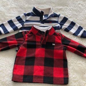 Carter's | Baby Boys Fleece Sweaters 9M